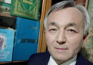 بالىلار يازغۇچىسى ئاۋۇت مەسىموف ئەپەندى. 2020-يىلى 11-ئاپرېل، قازاقىستان.