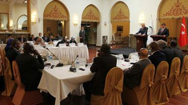 دۇنيا ئىسلام ھەمكارلىق تەشكىلاتى ئىنسان ھەقلىرى دائىمىي كومىتېتىنىڭ 2-نۆۋەتلىك يىغىنىدىن كۆرۈنۈش. 2012-يىلى ئاۋغۇست، ئەنقەرە.