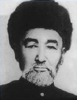 1944-Yili qutulghan sherqiy türkistan jumhuriyitining re'isi élixan töre ependi. 1099-1946-Yillar.