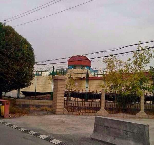 Uyghur akadémik ilham toxti ömürlük qamaq jazasigha höküm qilinishtin burun 8 ay tutup turulghan türme. 2014-Yili 24-séntebir, ürümchi.
