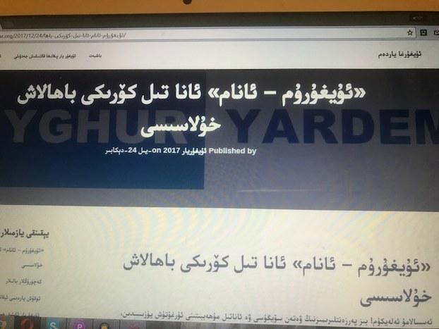 «ئۇيغۇرۇم-ئانام» ئانا تىل كۆرىكى باھالاش خۇلاسىسى. ئۇيغۇر يار تورى (www.uyghuryar.org).