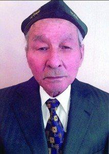 N jumhuriyitining milliy armiye ofitsérliridin biri, alim we yazghuchi batur ershidinof.