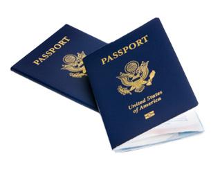 ئامېرىكا پاسپورتى.