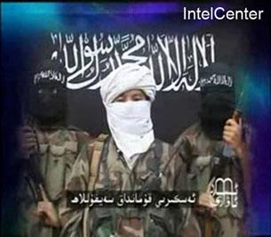 Бу сүрәт,  IntelCenter ширкити тәрипидин түркистан ислам партийисиниң 2008 - йил  23 - ийул байанат син - алғусидин елип тарқитилған.