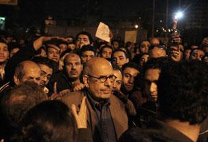 Misir al-tahrir merkizidiki namayish. 2011-Yili 30-yanwar.