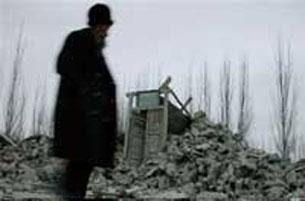Uyghur élidiki ilgiriki yer tewreshlerdin bir körünüsh.