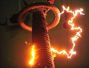 ۋۇخەندىكى ئۇلترا يۇقىرى بېسىملىق توك كۈچى تەمىنلەش ئورنى. بۇ خىتاينىڭ ئىقتىسادتا ياپونىيىدىن بېسىپ چۈشكەنلىكىنى كۆرسىتىدۇ. 2011-يىلى 8-يانۋار.
