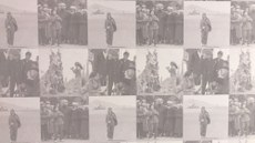 نيۇيوركتا ئۆتكۈزۈلگەن «مەن ئۇيقۇدىن بىدار: ئۇيغۇرلار ۋەتىنىگە ئېھتىرام» ناملىق فوتو سۈرەتلەر كۆرگەزمىسىدىن بىر كۆرۈنۈش. 2019-يىلى 17-يانۋار. نيۇيورك، ئامېرىكا.