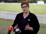 Австралийә ташқи ишлар министири марис пәйн таҗсиман вирусни мустәқил тәкшүрүшни  һәрқайси дөләтләрниң қоллиғанлиқини қарши алидиғанлиқини баян қилмақта. 2020-Йили 18-май, австралийә.